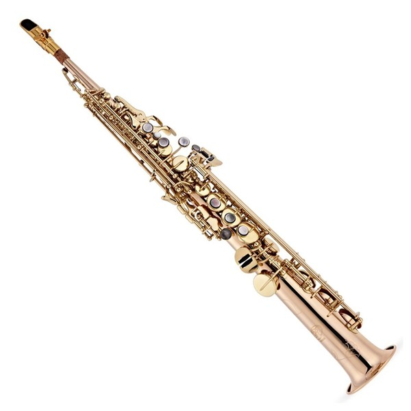 Rosedale Intermediate Soprano Saxophone, By Gear4music