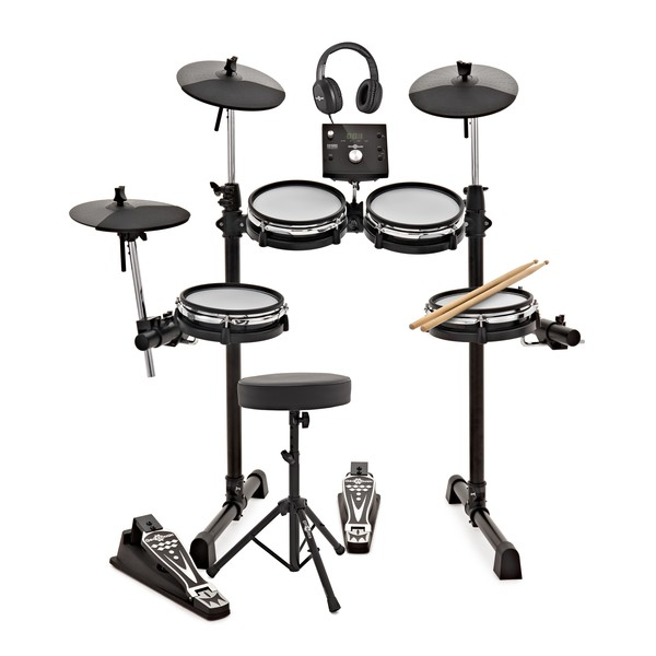 Digital Drums 400X Compact Mesh Electronic Drum Kit Package Deal