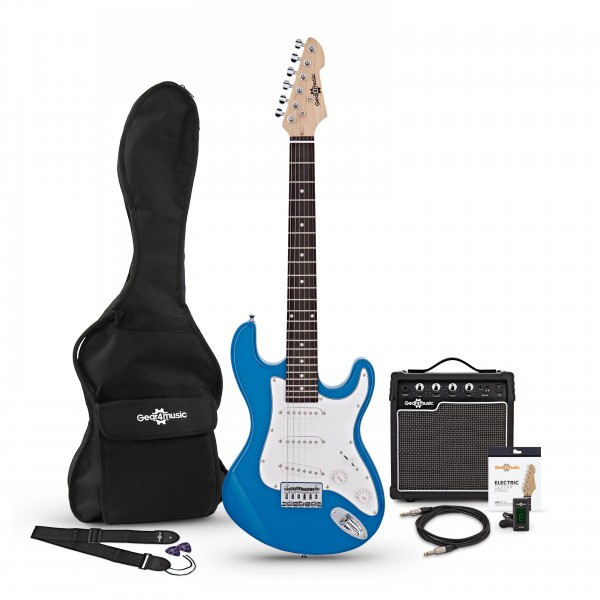 3/4 LA Electric Guitar + Amp Pack, Blue
