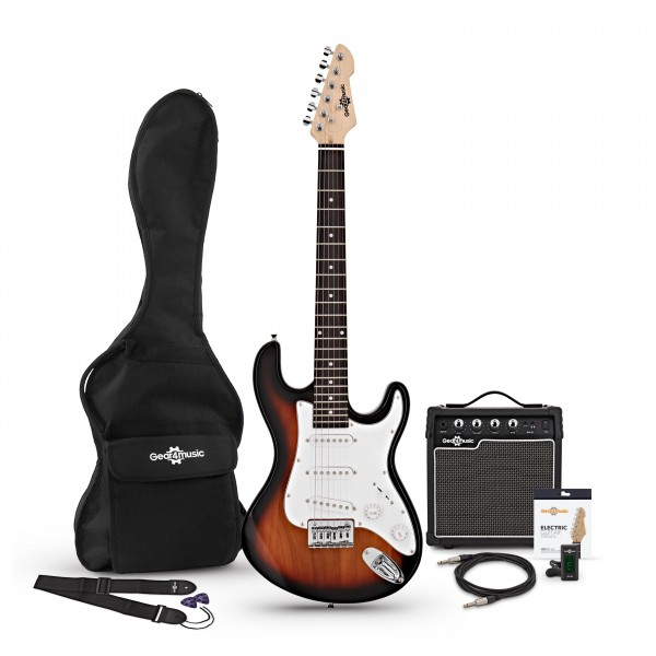 3/4 LA Electric Guitar + Amp Pack, Sunburst