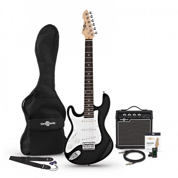 3/4 LA Left Handed Electric Guitar + Amp Pack