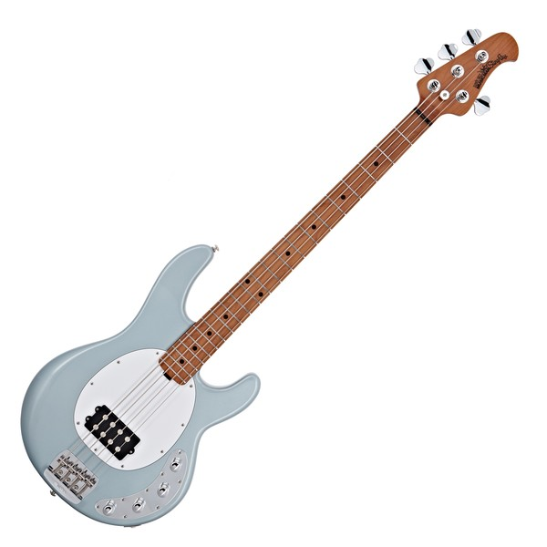 Music Man StingRay Special Bass H MN, Firemist Silver