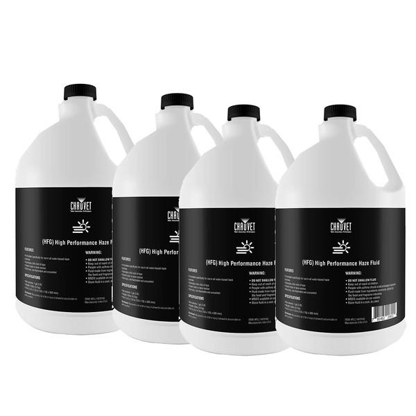 Chauvet High Performance Haze Fluid, 5L - Pack of 4
