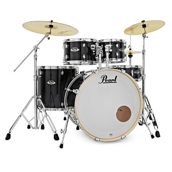 Pearl Export EXX 22'' Am. Fusion Drums, Jet Black