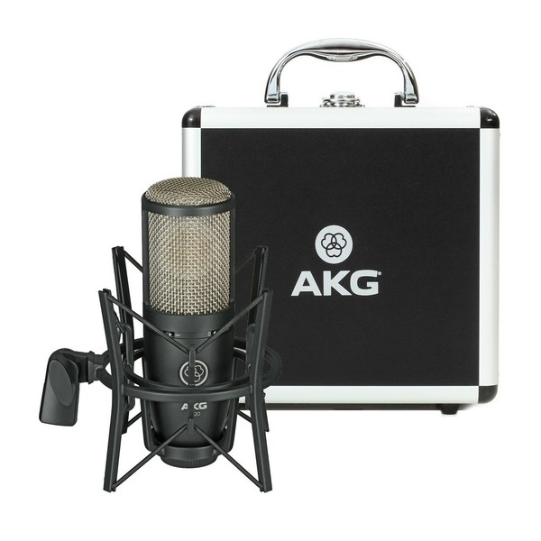 AKG P220 Large Diaphragm Condenser Microphone With Stand
