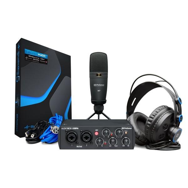 PreSonus Audiobox 96 Studio, 25th Anniversary Edition - Full Bundle