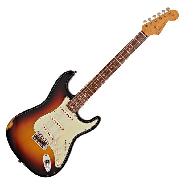 Fender Custom Shop Relic 62 Stratocaster, 3-Tone Sunburst