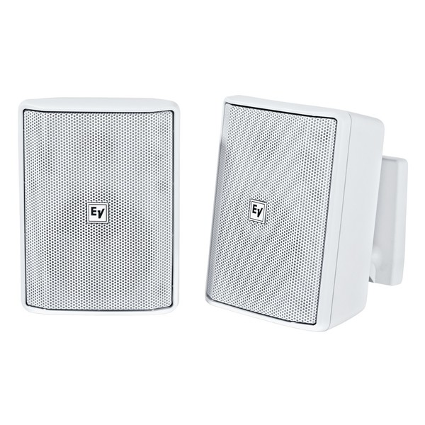 Electro-Voice EVID S4.2 Installation Speakers, White, Pair, Front