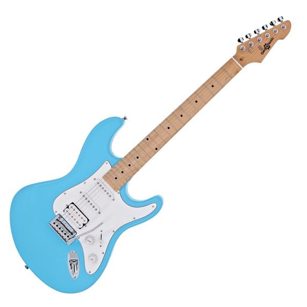 LA Select Electric Guitar HSS by Gear4music, Sky Blue