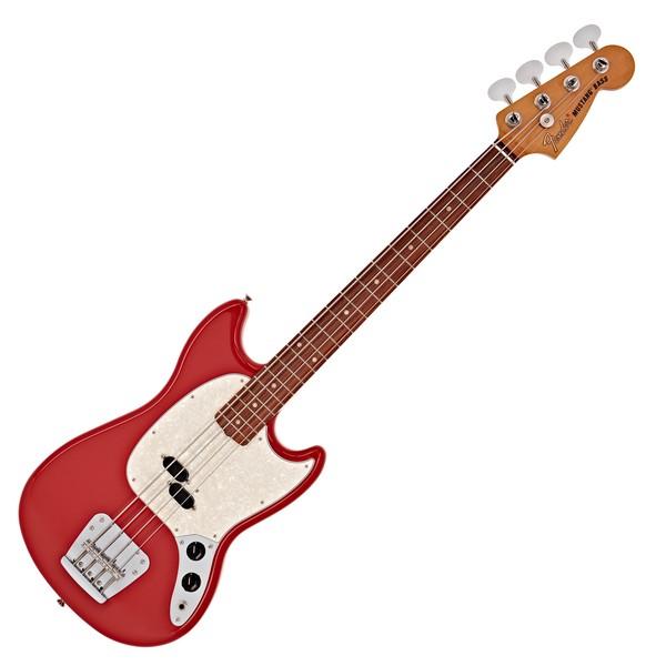 Fender Vintera 60s Mustang Bass PF, Fiesta Red