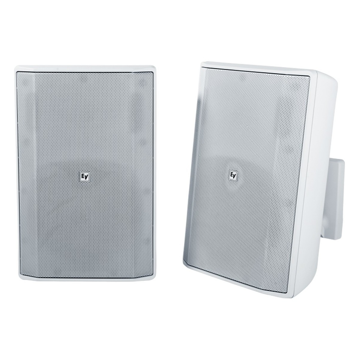 Electro Voice Evid S82 Installation Speakers White Pair