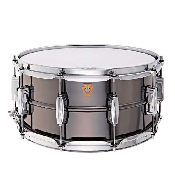 """Ludwig 14"""" x 6.5"""" Black Beauty Snare Drum, Imperial Lugs"""