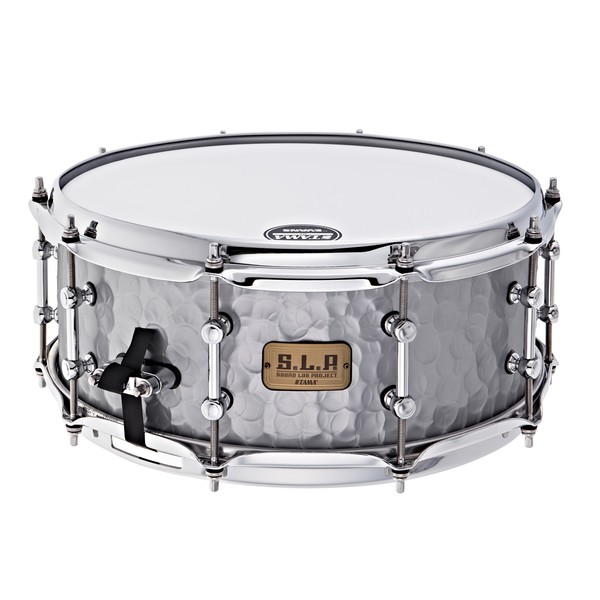 Tama SLP 14'' x 5.5'' Vintage Hammered Steel Snare Drum