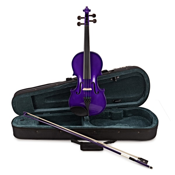 Rainbow Fantasia Purple Violin Outfit, 3/4