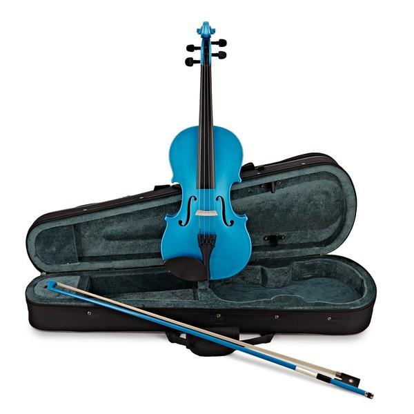 Rainbow Fantasia Blue Violin Outfit, 3/4