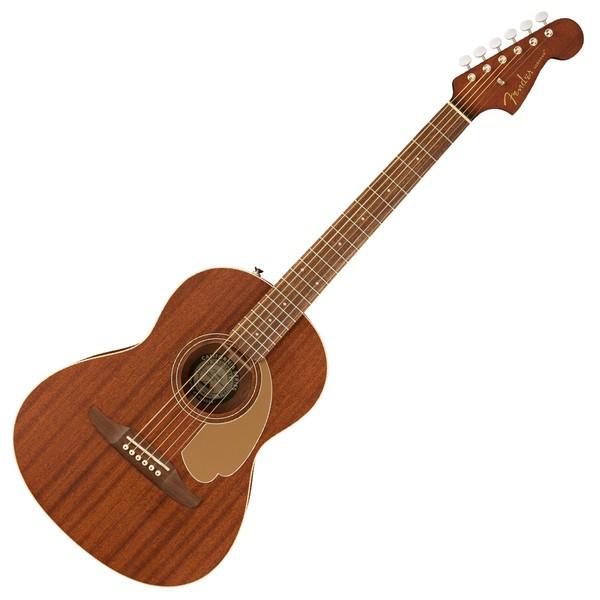 Fender Sonoran Mini Acoustic, Mahogany - Front View