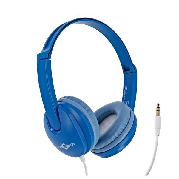 Kids Headphones, Blue, by Gear4music