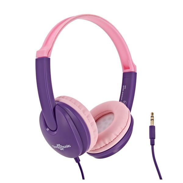 Kids Headphones, Pink, by Gear4music