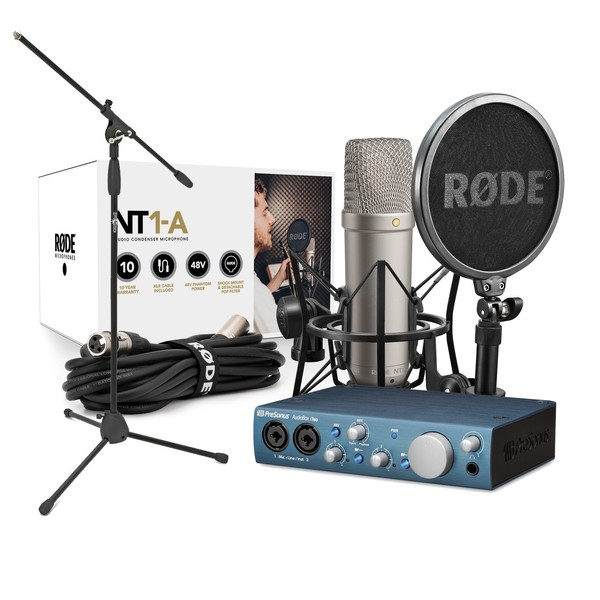 Presonus AudioBox iTwo with Rode NT1-A Vocal Recording Pack - Main