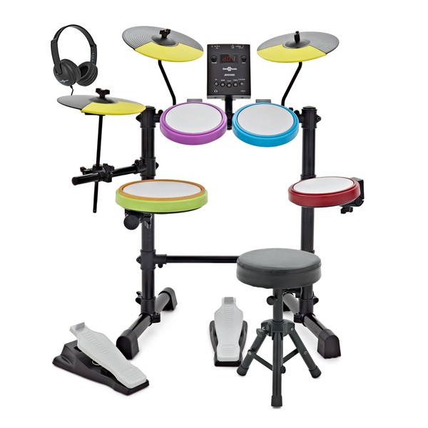 Digital Drums 200 Junior Electronic Drum Kit by Gear4music