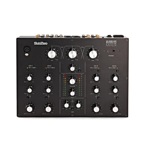 SubZero 4 Channel Rotary Knob DJ Mixer