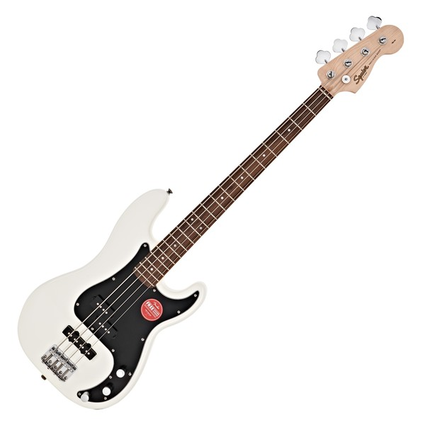 Squier Affinity Precision PJ Bass, Olympic White