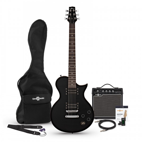 New Jersey Classic Electric Guitar + 15W Pack, Black