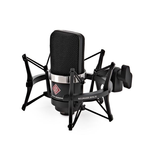 Neumann TLM 102 Microphone Studio Set, Black
