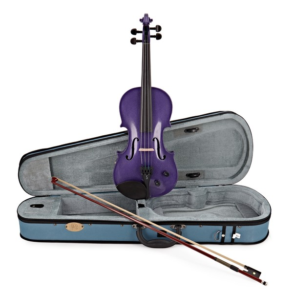 Stentor Electric Violin Outfit Full Size, Purple