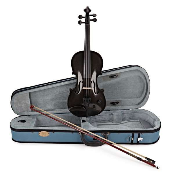 Stentor Electric Violin Outfit Full Size, Black