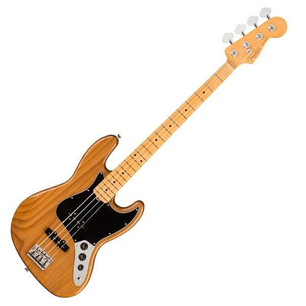 Fender American Pro II Jazz Bass MN, Roasted Pine - Main