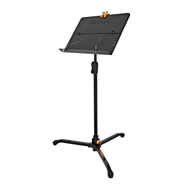 Hercules BS301B Orchestra Ez Clutch Stand, Solid Desk