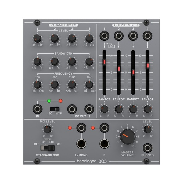 Behringer System 100 305 EQ/Mixer/Output