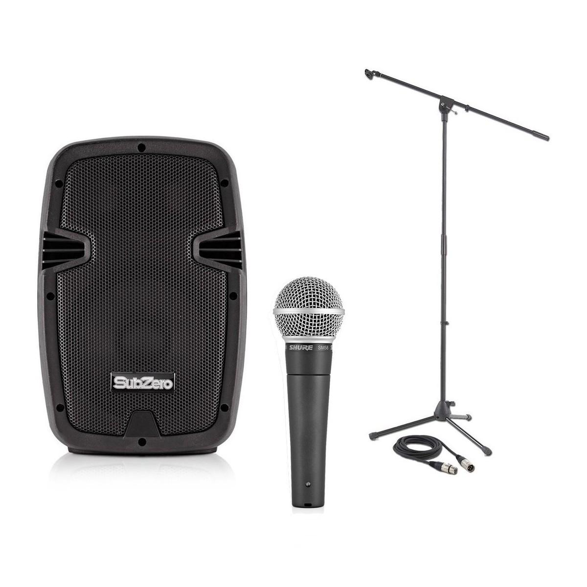 Shure SM58 LCE Dynamisk håndholdt sangmikrofon Vokal