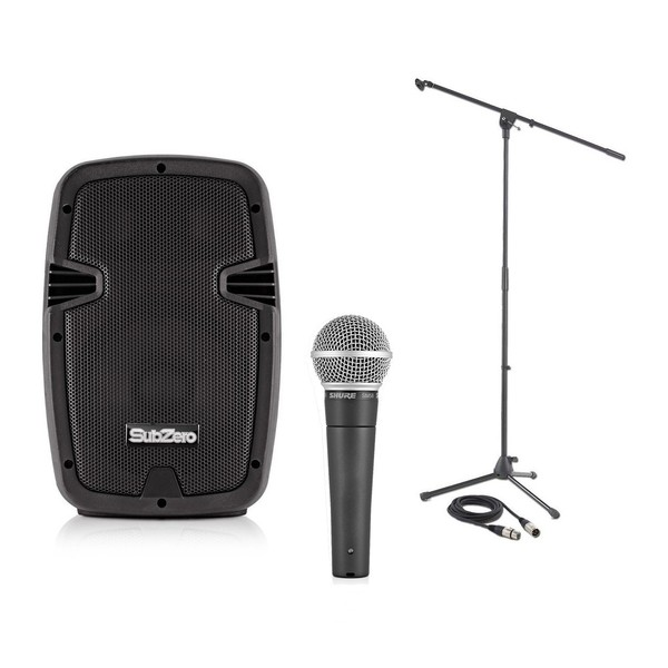 Shure SM58 Vocal Performance Pack