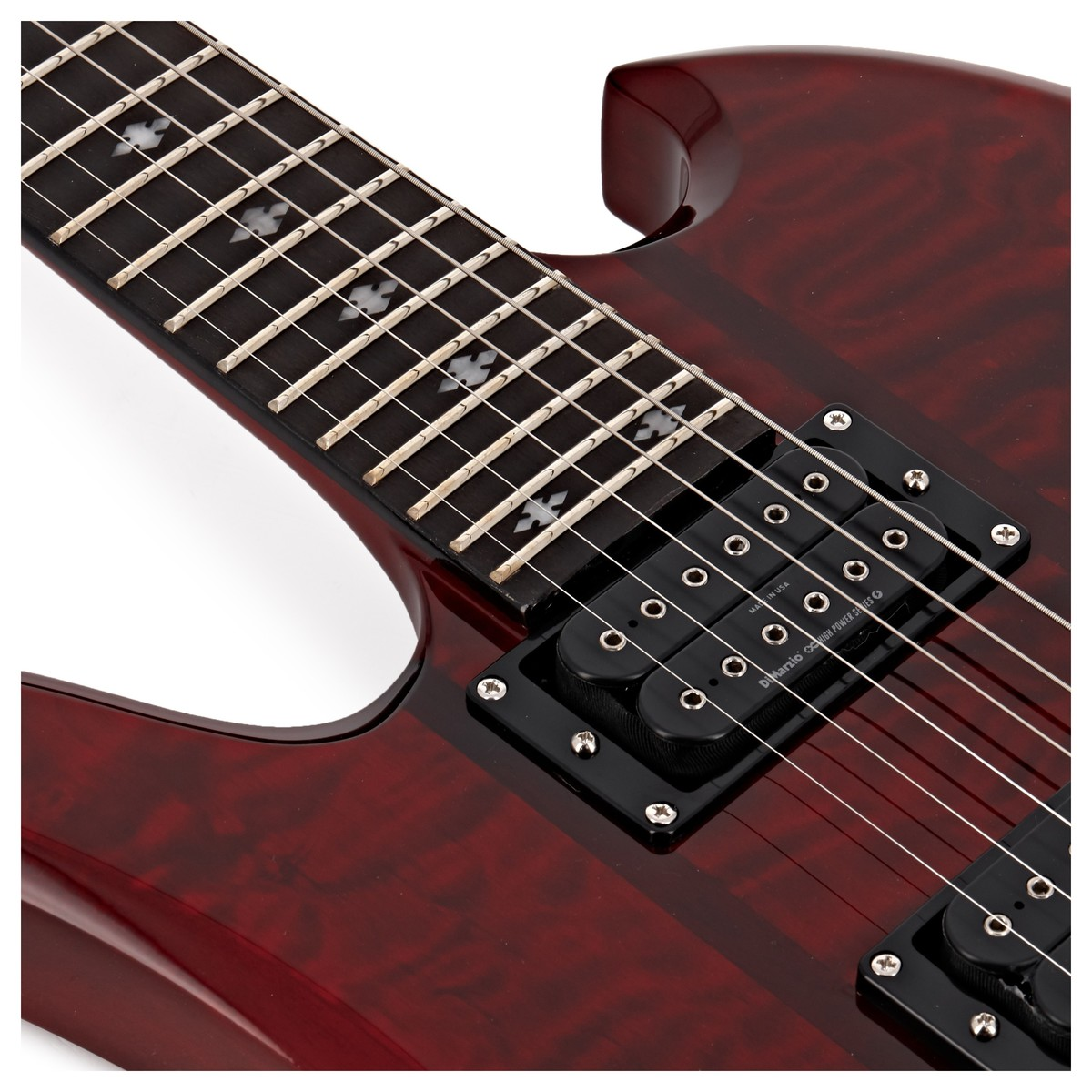 BC Rich Mockingbird Legacy ST FR Left Handed, Trans Red at ...