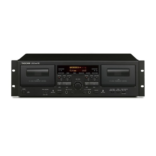 Tascam 202 MK7 Cassette Player - Front View