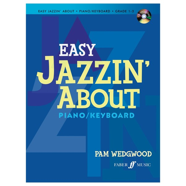Easy jazzin' About for Piano, Pam Wedgwood, Book and CD