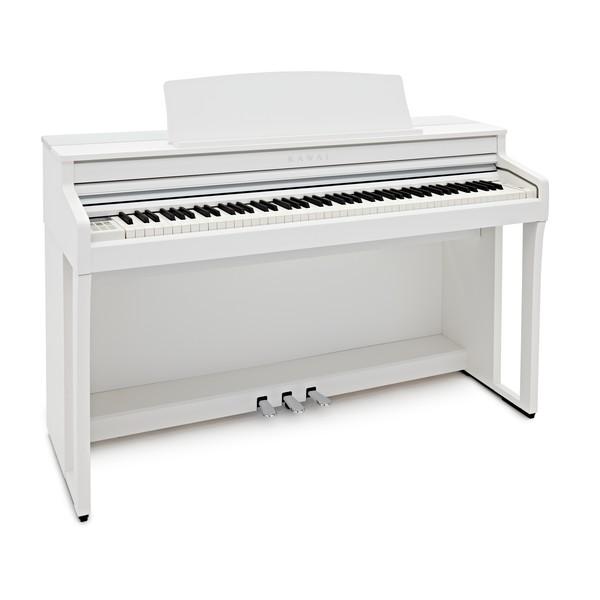 Kawai CA59 Digital Piano, Satin White