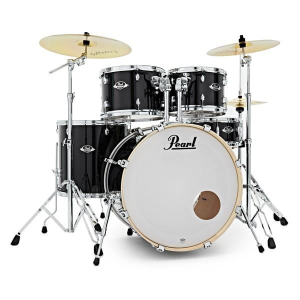 Pearl Export EXX 22'' Rock Drum Kit, Jet Black