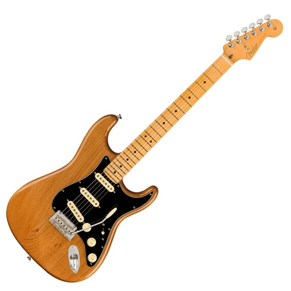 Fender American Pro II Stratocaster MN, Roasted Pine - Main