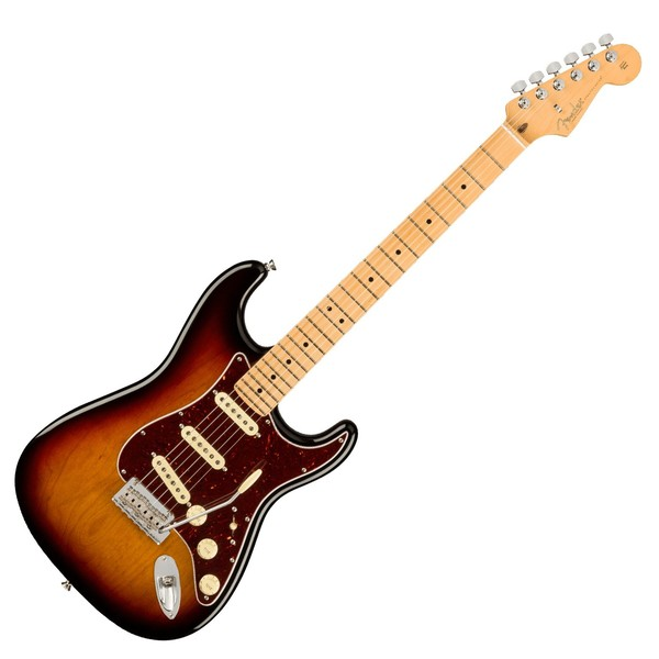 Fender American Pro II Stratocaster MN, 3-Tone Sunburst - Main