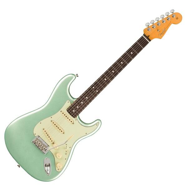 Fender American Pro II Stratocaster RW, Mystic Surf Green - Main