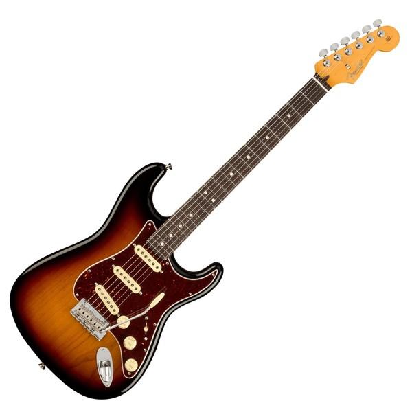 Fender American Pro II Stratocaster RW, 3-Tone Sunburst - Main