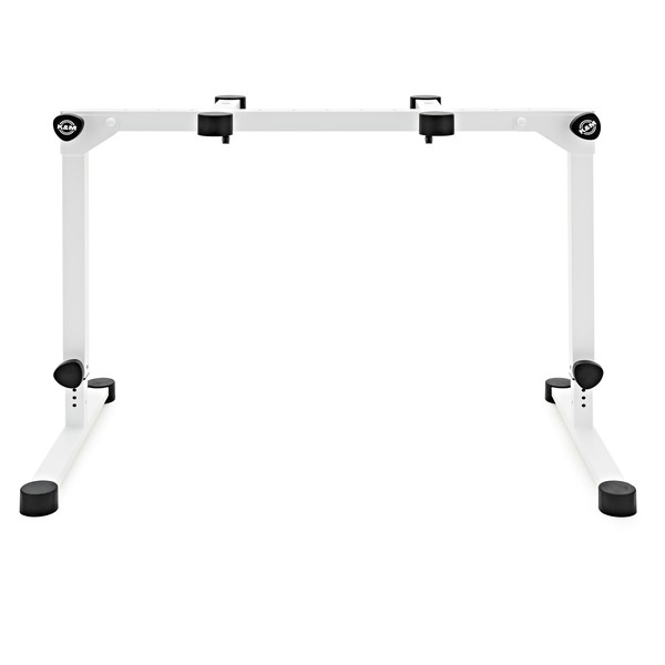 K&M 18820 Omega Pro Table Style Keyboard Stand, White