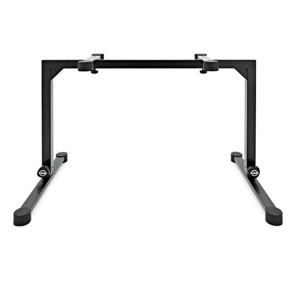 K&M 18810 Omega Keyboard Table, Black