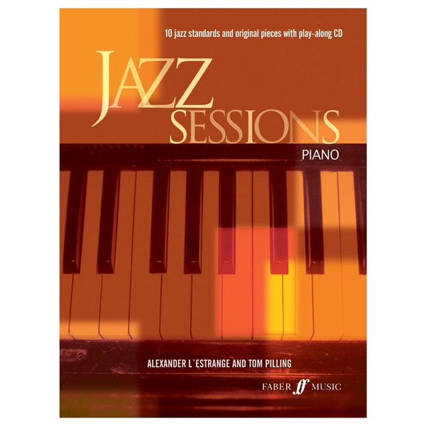 Jazz Sessions for Piano, Book and CD