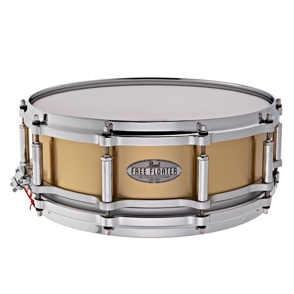Pearl Free Floating 14'' x 5'' Brass Snare Drum