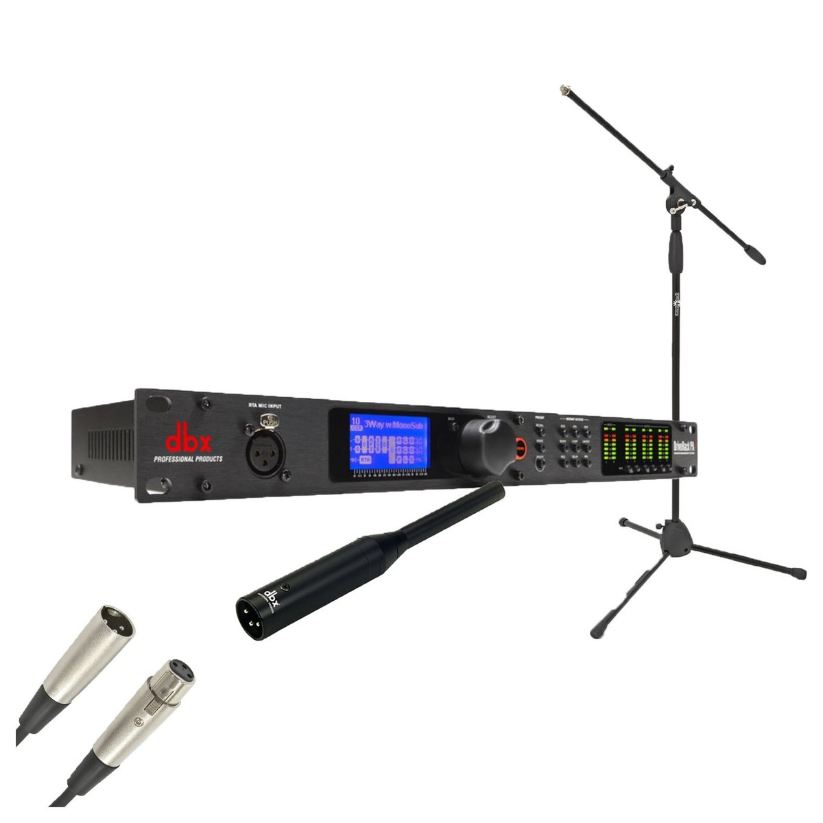 Click to view product details and reviews for Dbx Driverack Pa 2 Speaker Management System And Reference Mic Bundle.