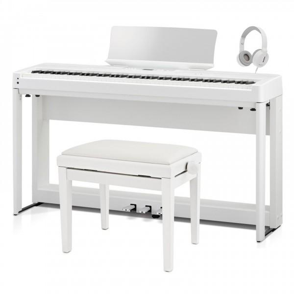 Kawai ES920 Digital Stage Piano Deluxe Package, White - Full Bundle